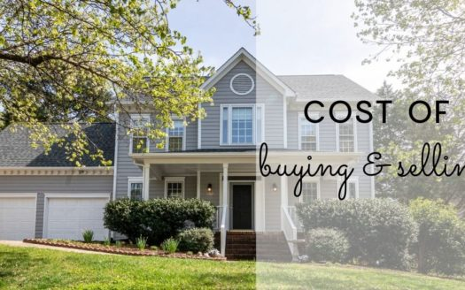 cost of buying and selling